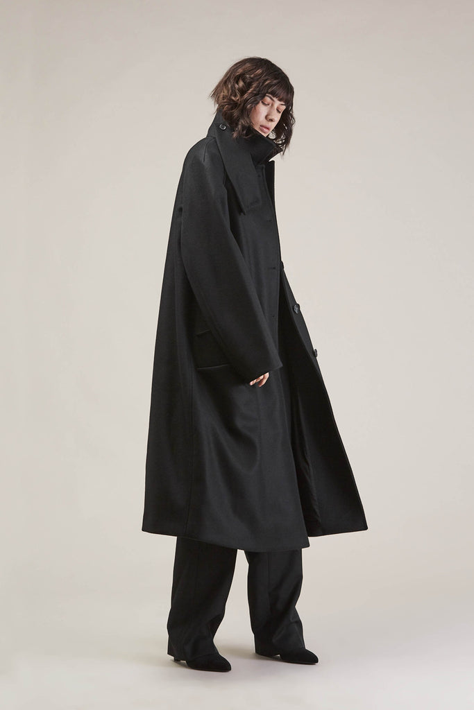 Bruxelles Coat, Black