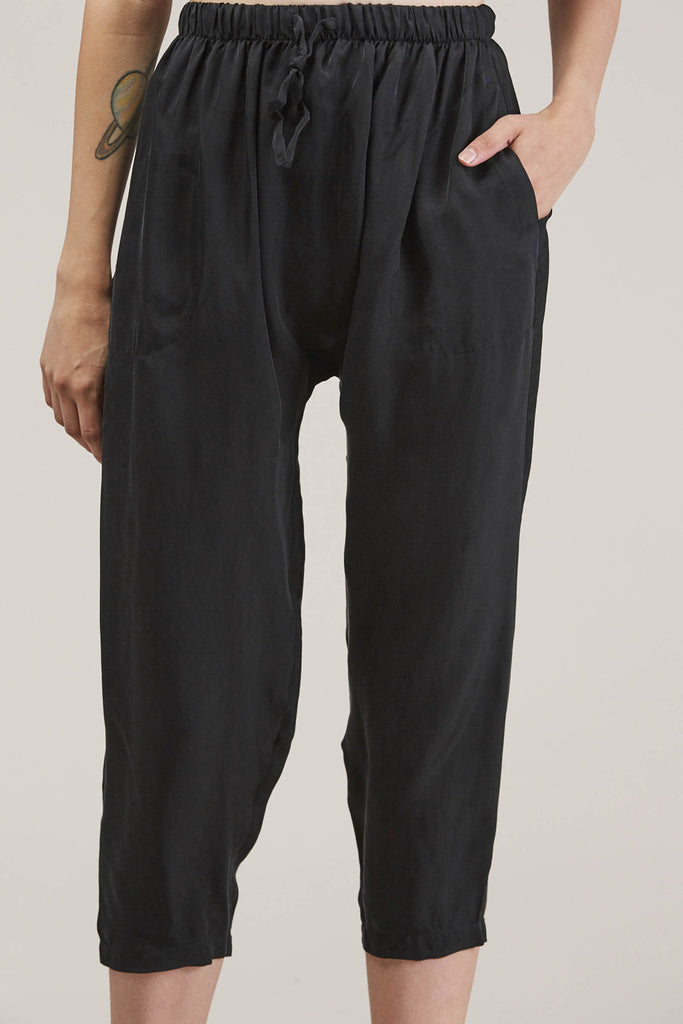 Judd Pant, Black by PRIORY @ Kick Pleat - 7