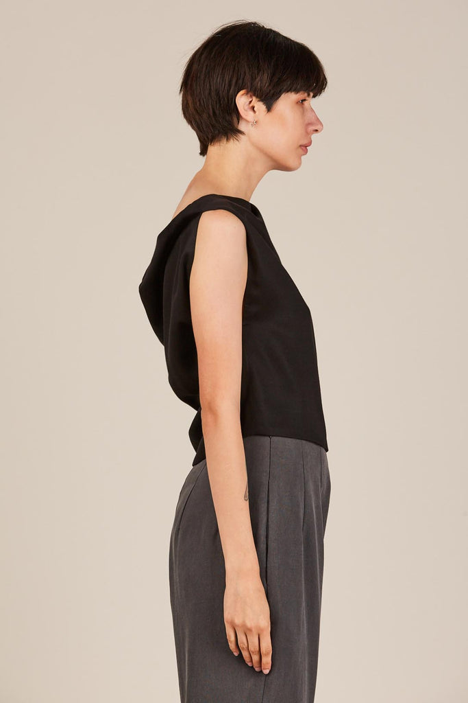 Sonora Top, Onyx by Shaina Mote