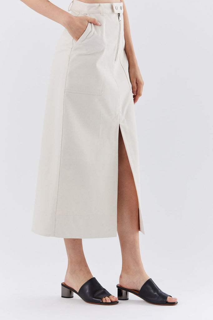 Nomia - work skirt, Natural
