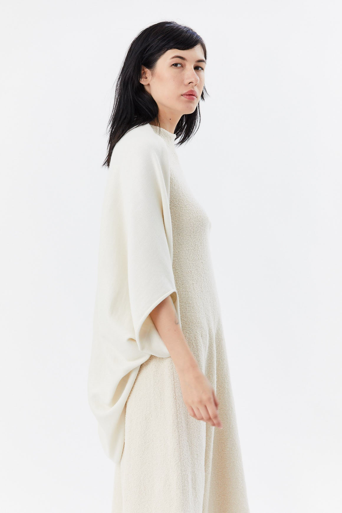 Lauren Manoogian - tube sleeves cardigan, white