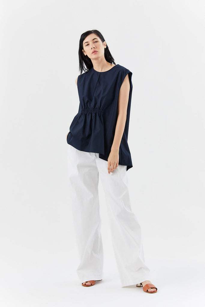 Fabiana Pigna - leonor top, navy