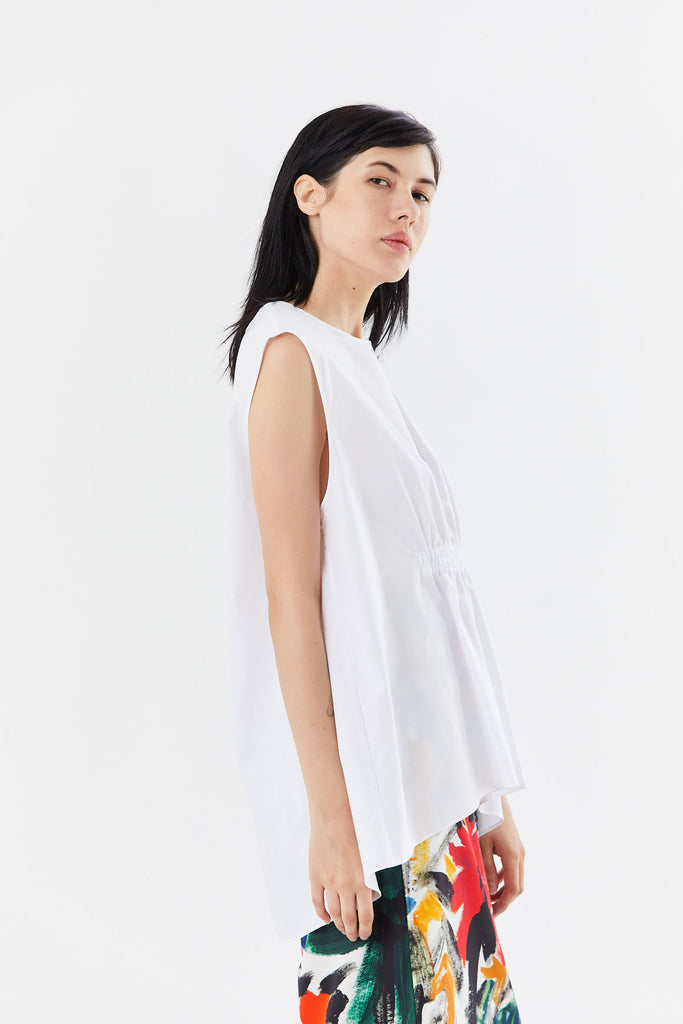Fabiana Pigna - leonor top, white