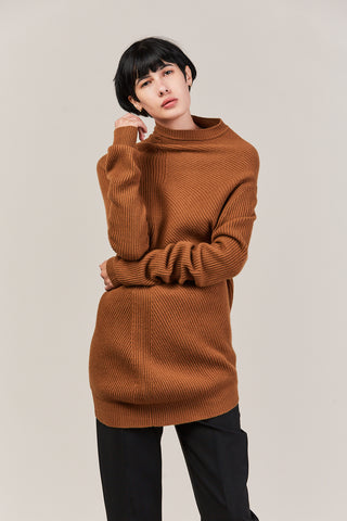 Turtleneck Sweater, Camel
