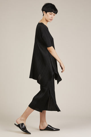 Black Pleated Tunic