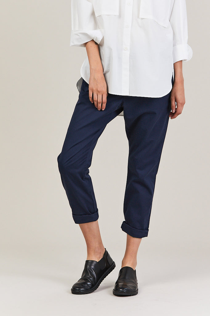 News Trouser, Navy