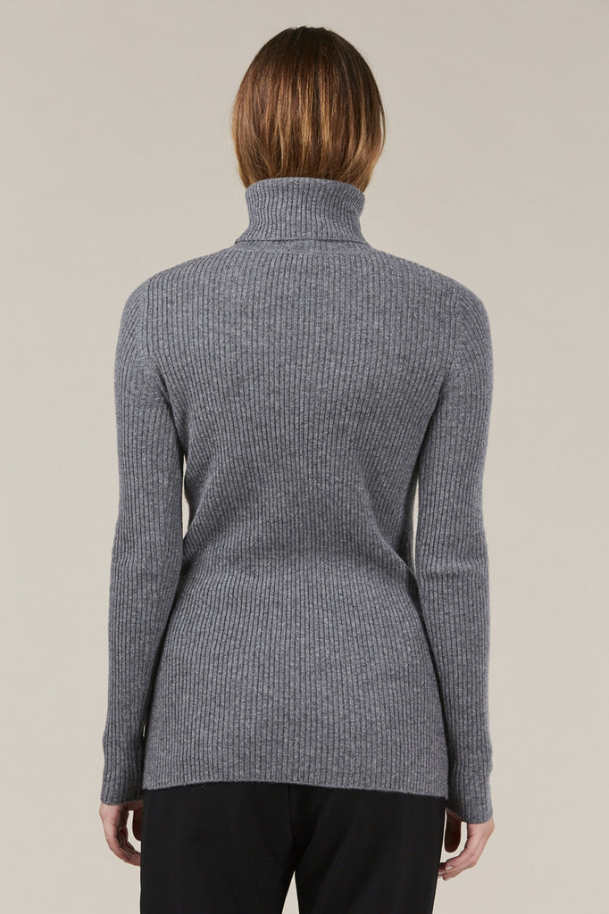 Ginny Ribbed Turtleneck Sweater by Demylee @ Kick Pleat - 6