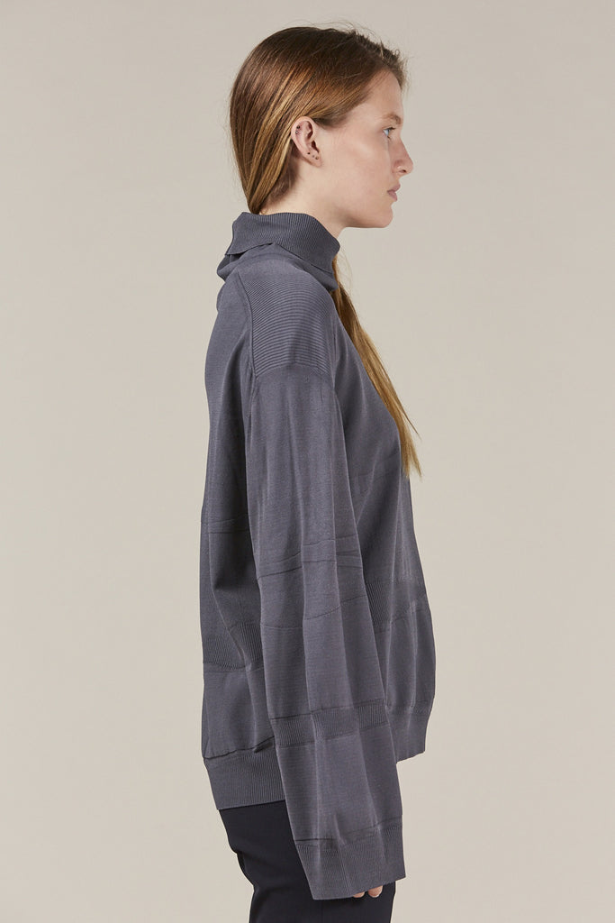 Turtleneck, Grey by Boboutic @ Kick Pleat - 4