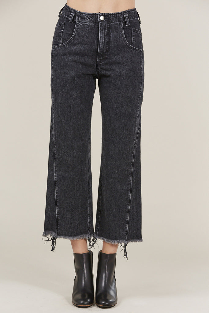 Trigger pant, Washed Black by Rachel Comey @ Kick Pleat - 1