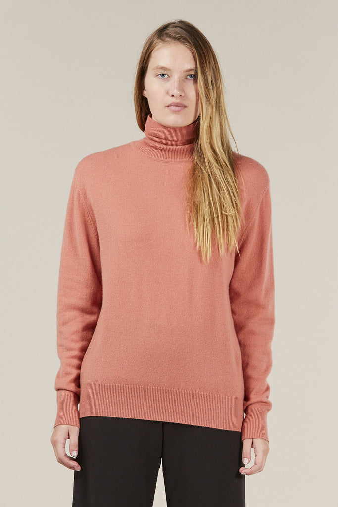 Basic Turtleneck, Terra by Ryan Roche @ Kick Pleat - 1
