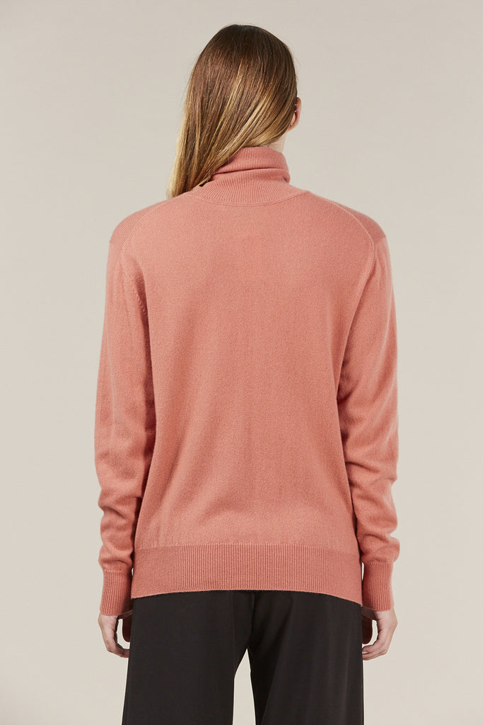 Basic Turtleneck, Terra by Ryan Roche @ Kick Pleat - 6
