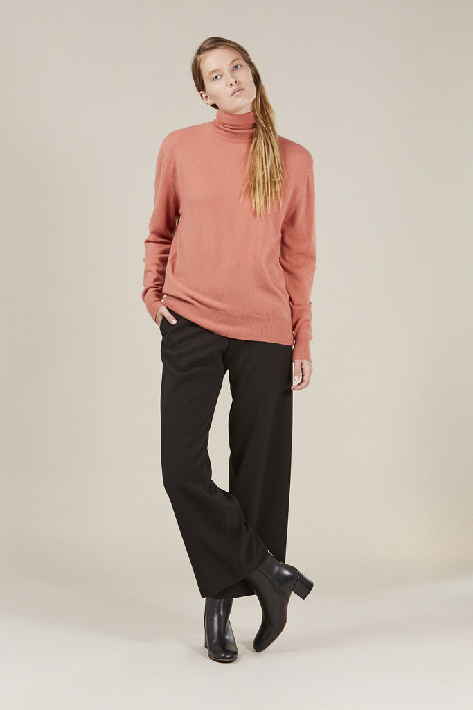 Basic Turtleneck, Terra by Ryan Roche @ Kick Pleat - 2