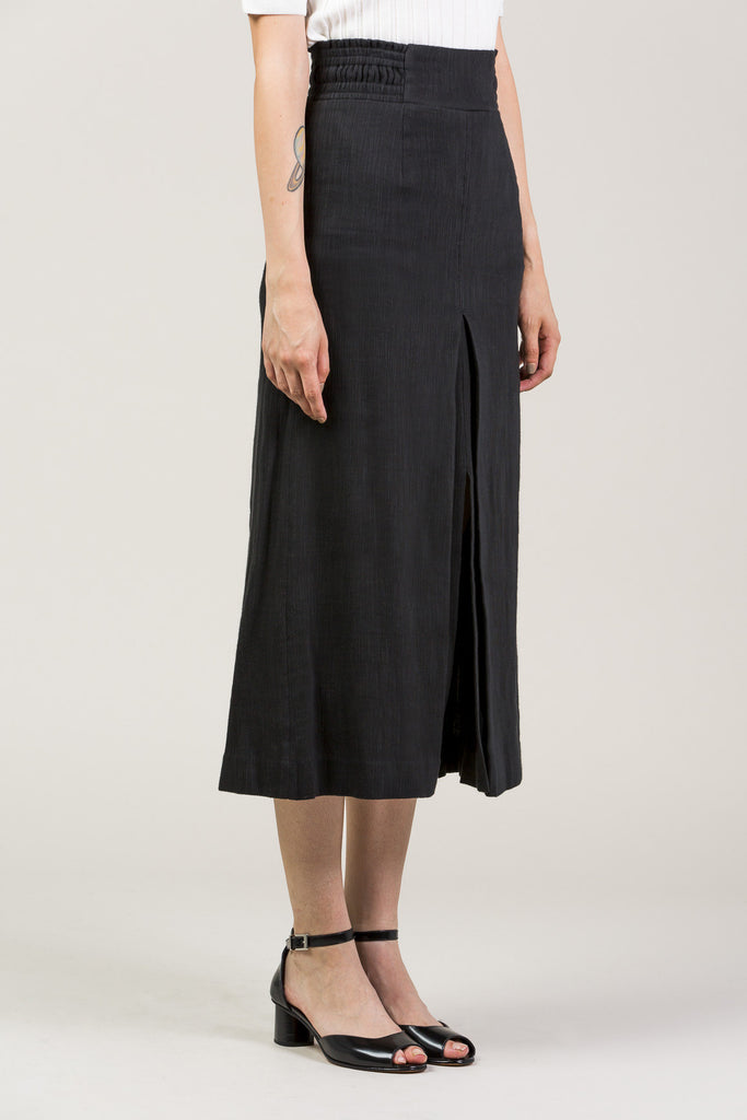Obsidian Slit Skirt by Apiece Apart @ Kick Pleat - 4