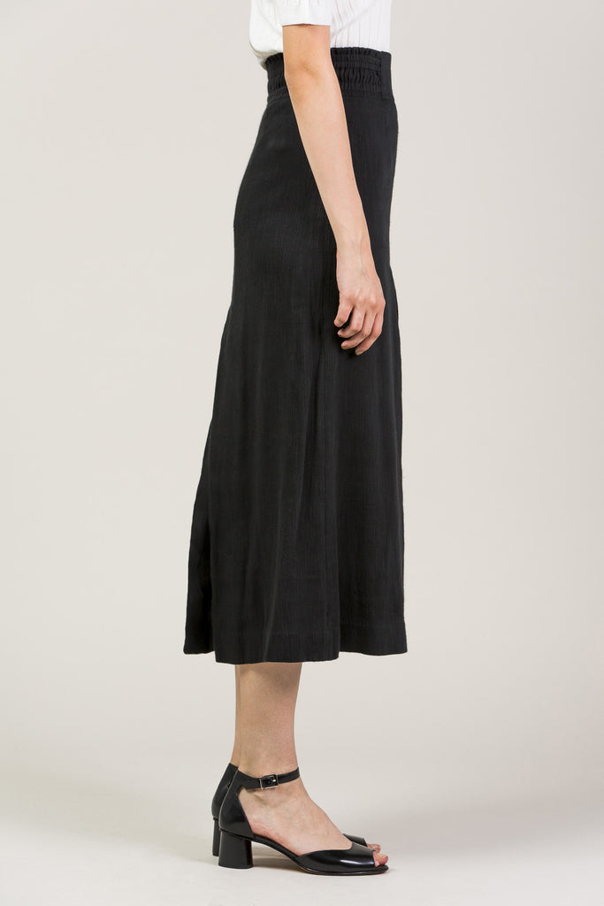 Obsidian Slit Skirt by Apiece Apart @ Kick Pleat - 5