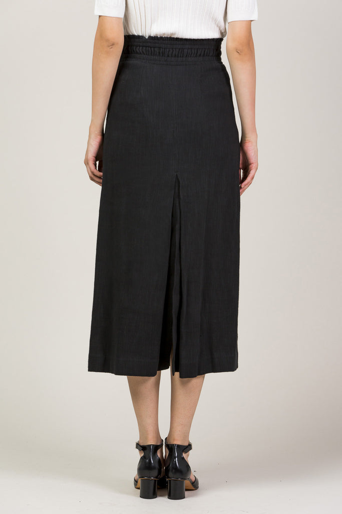 Obsidian Slit Skirt by Apiece Apart @ Kick Pleat - 6
