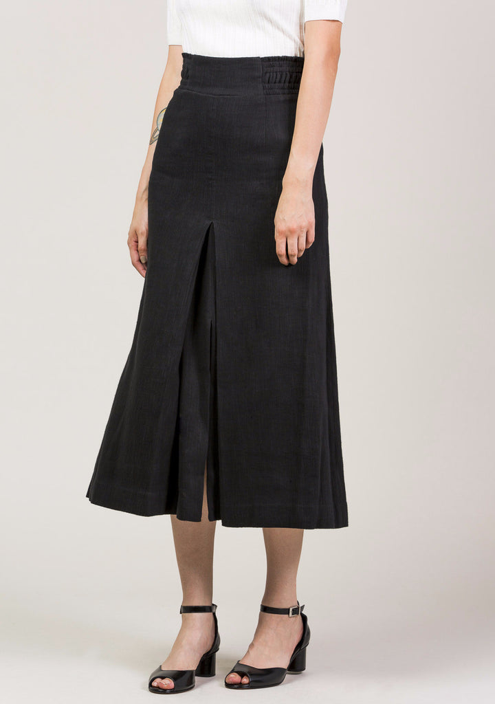 Obsidian Slit Skirt by Apiece Apart @ Kick Pleat - 2