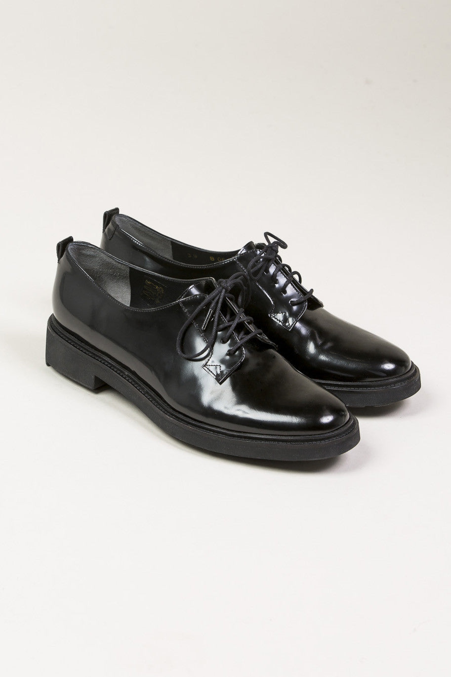 Jonk Derby, Black by Robert Clergerie @ Kick Pleat - 1