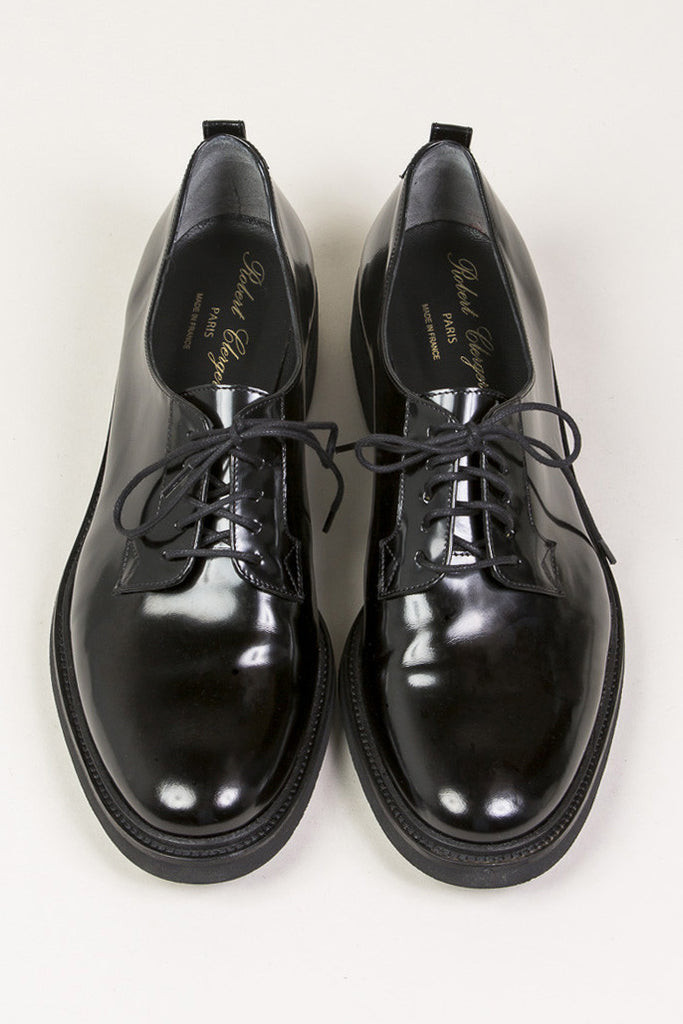 Jonk Derby, Black by Robert Clergerie @ Kick Pleat - 3
