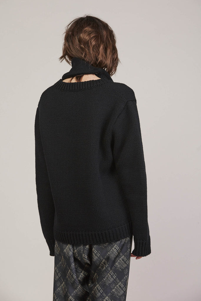 335 Sweater, Black by Veronique Leroy @ Kick Pleat - 8