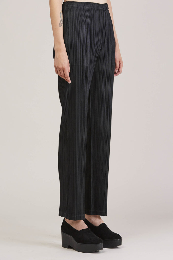 Pleated Pant, Black by Pleats Please by Issey Miyake @ Kick Pleat - 4