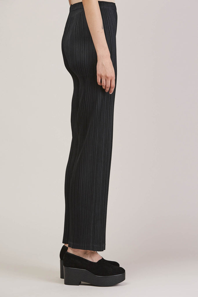 Pleated Pant, Black by Pleats Please by Issey Miyake @ Kick Pleat - 5
