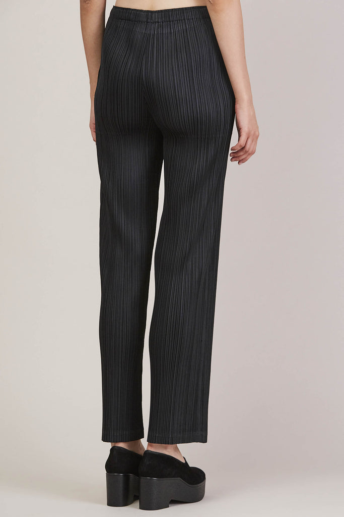 Pleated Pant, Black by Pleats Please by Issey Miyake @ Kick Pleat - 6