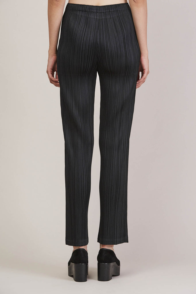 Pleated Pant, Black by Pleats Please by Issey Miyake @ Kick Pleat - 7