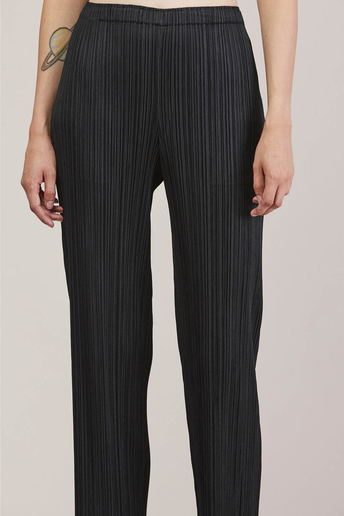 Pleated Pant, Black by Pleats Please by Issey Miyake @ Kick Pleat - 8