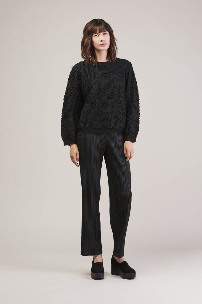Pleated Pant, Black by Pleats Please by Issey Miyake @ Kick Pleat - 3