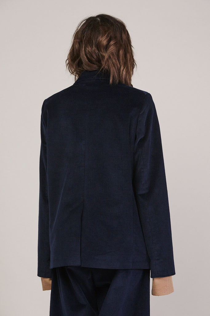 Wide whale tailored jacket by Studio Nicholson @ Kick Pleat - 5