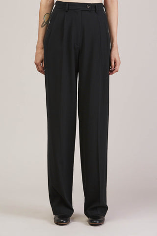 High waisted trouser, Black