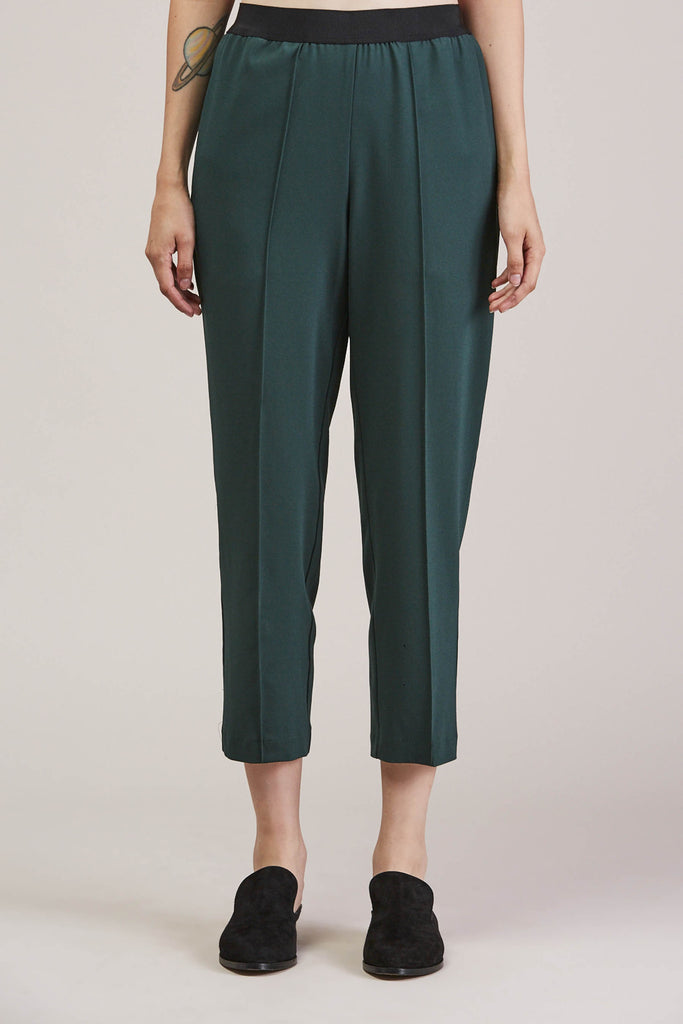 Sleeper trouser, Green by KALLMEYER @ Kick Pleat - 1