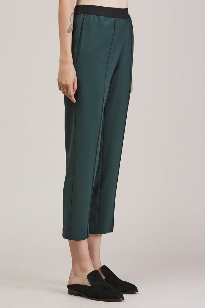 Sleeper trouser, Green by KALLMEYER @ Kick Pleat - 3