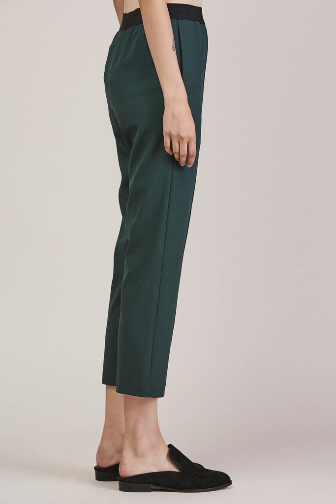 Sleeper trouser, Green by KALLMEYER @ Kick Pleat - 4