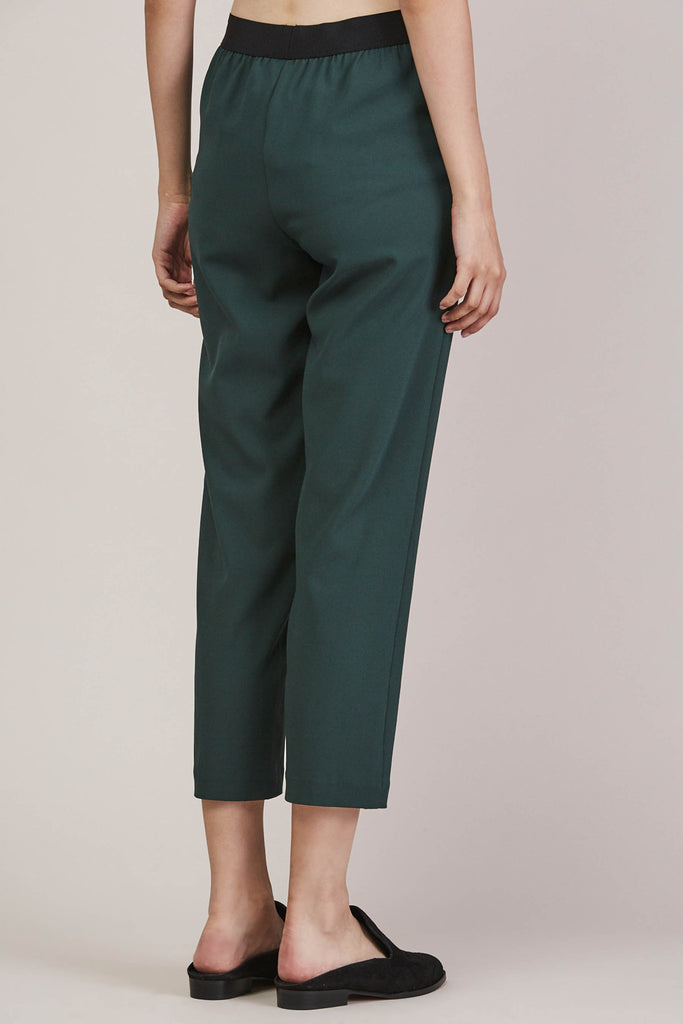 Sleeper trouser, Green by KALLMEYER @ Kick Pleat - 5