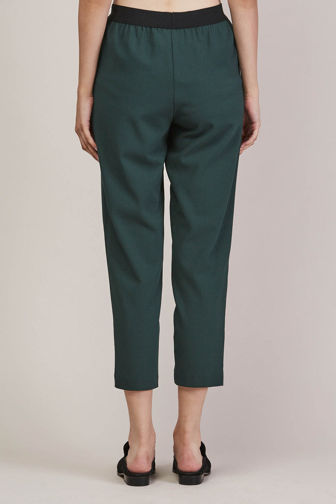 Sleeper trouser, Green by KALLMEYER @ Kick Pleat - 6