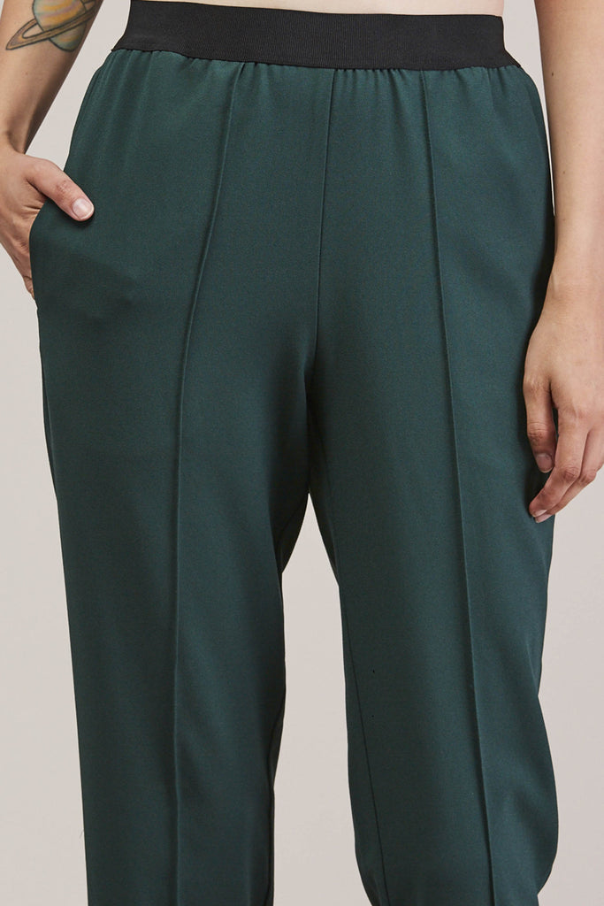 Sleeper trouser, Green by KALLMEYER @ Kick Pleat - 7