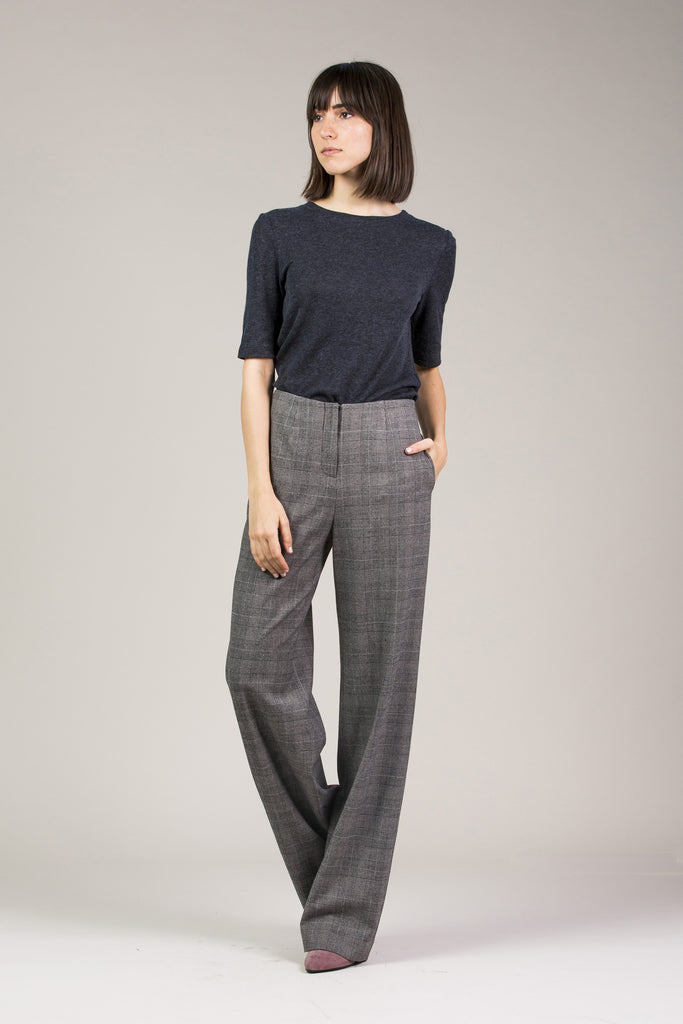 Chloe Pant, Grey by Yune Ho @ Kick Pleat - 9