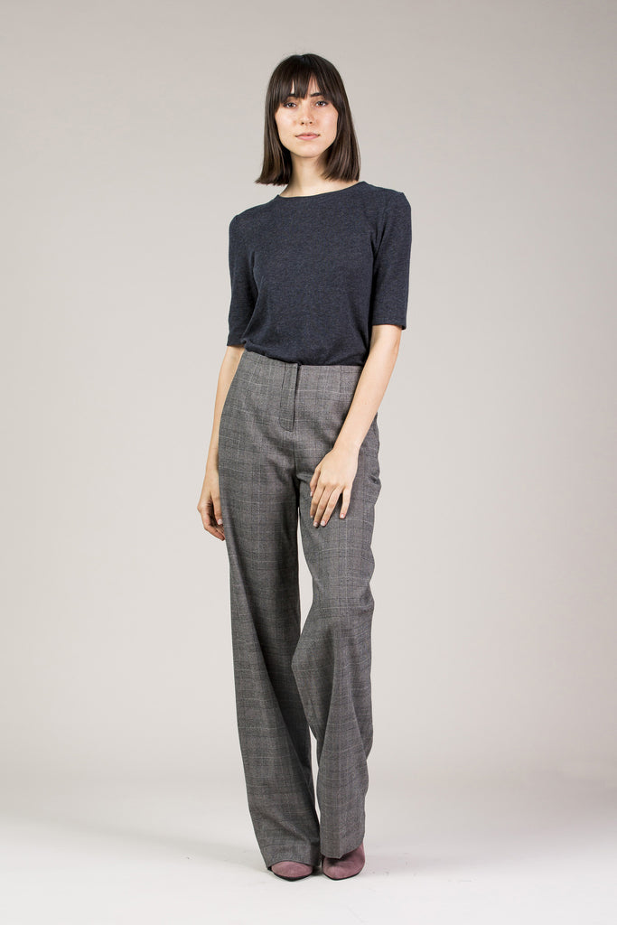 Chloe Pant, Grey by Yune Ho @ Kick Pleat - 7
