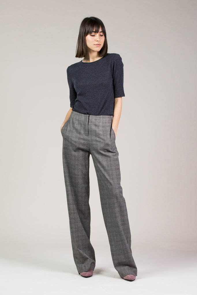 Chloe Pant, Grey by Yune Ho @ Kick Pleat - 8
