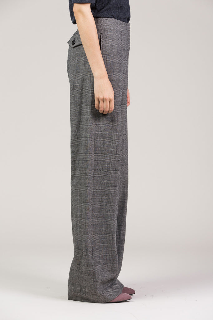 Chloe Pant, Grey by Yune Ho @ Kick Pleat - 4