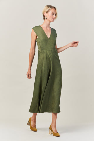 Eve Mosa Dress, Green