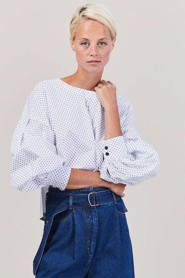 Woolf Top, White