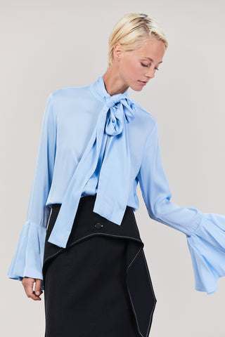 Nouveau Blouse, Light Blue