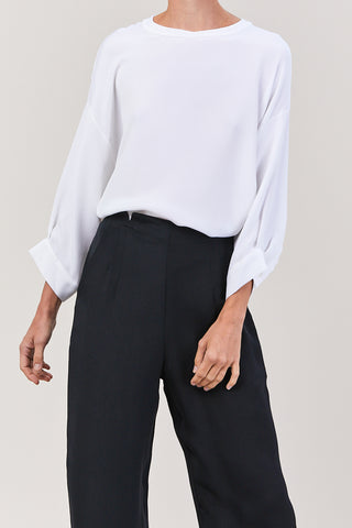 Fond Blouse, White