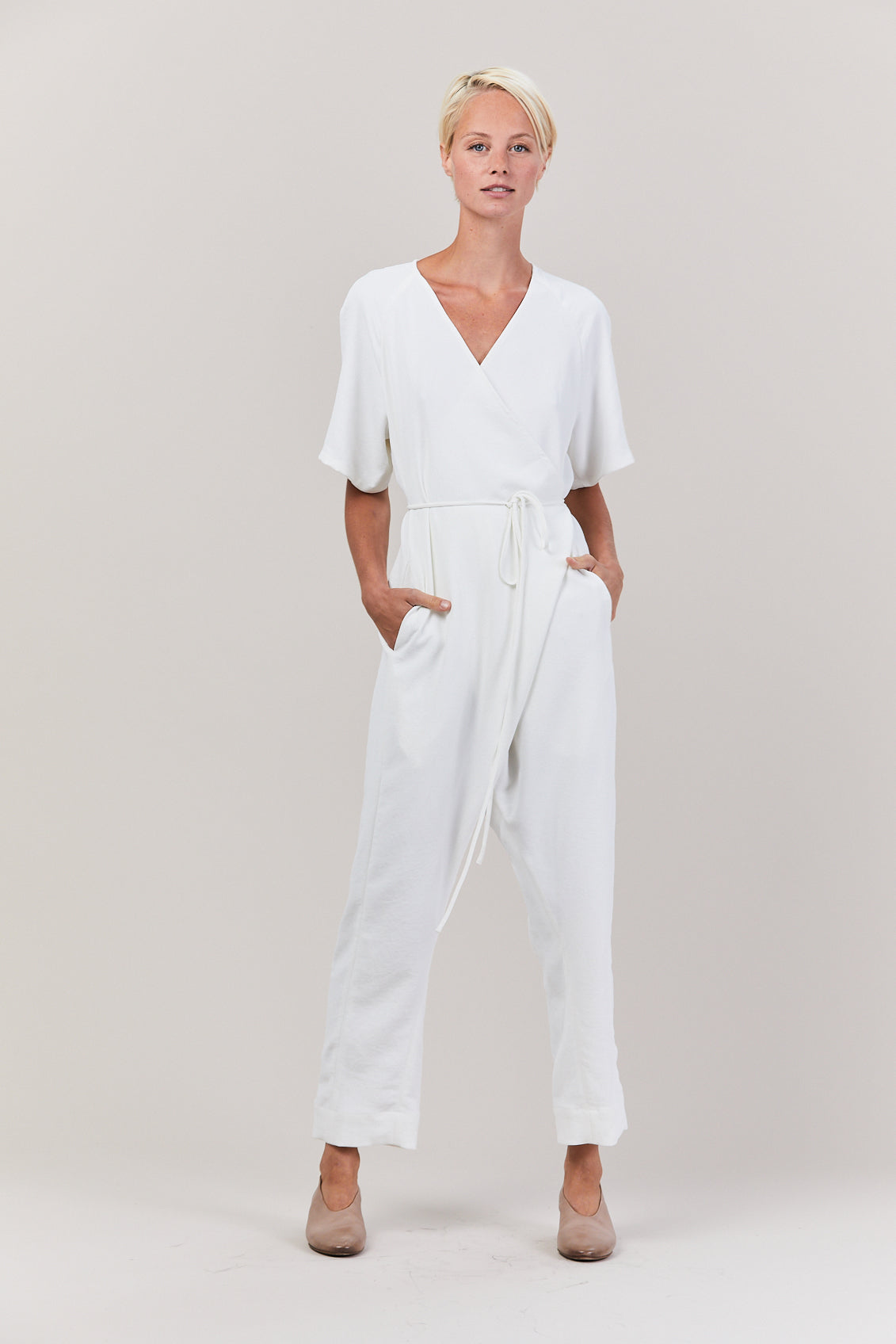 Dispatch Jumpsuit, White