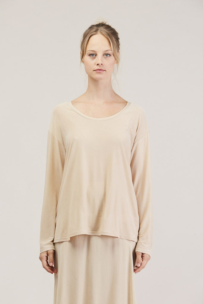 Relaxed l/s drop shoulder, Buff by Shaina Mote @ Kick Pleat - 2