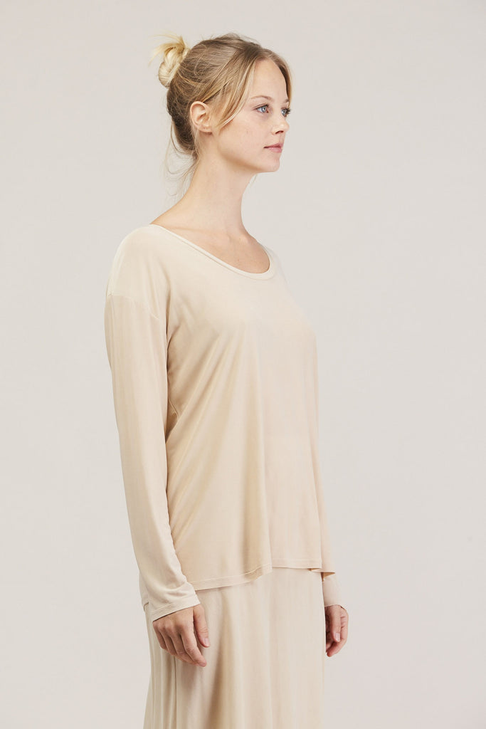 Relaxed l/s drop shoulder, Buff by Shaina Mote @ Kick Pleat - 3