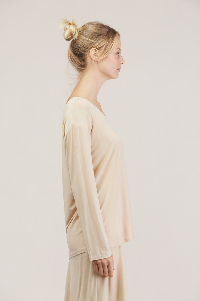 Relaxed l/s drop shoulder, Buff by Shaina Mote @ Kick Pleat - 4