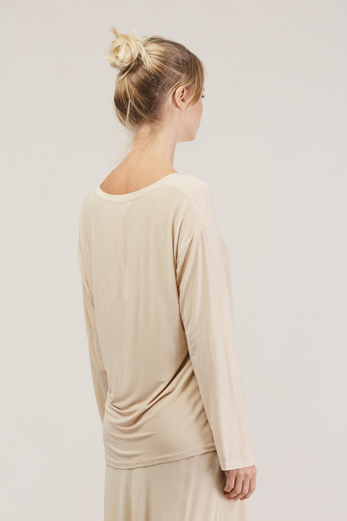 Relaxed l/s drop shoulder, Buff by Shaina Mote @ Kick Pleat - 5